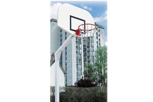 Basketkorg på stativ. Enkel i sin design och lätt att placera ... 01ea01a9c5573